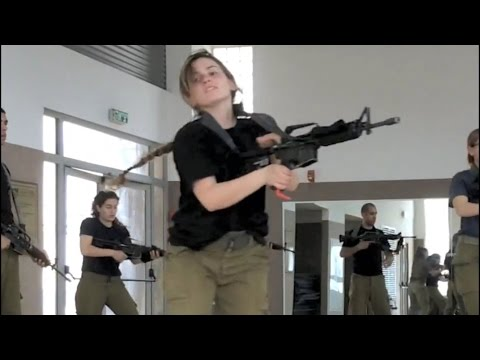 Israeli army fitness requirement for cadets (IDF Israel female soldiers women training workout)