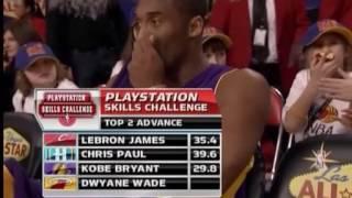 NBA All-Star Games 2007 - Shooting Stars Skills Challenge
