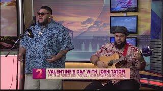 Grammy nominee Josh Tatofi performs on Take2