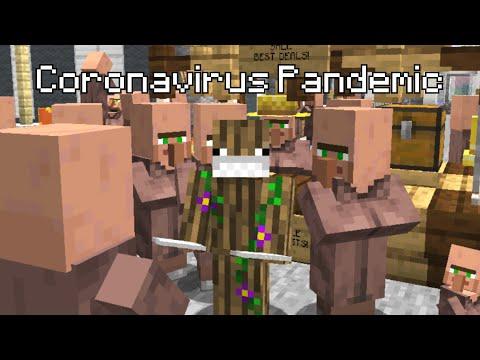 Types of People During a Pandemic Portrayed by Minecraft