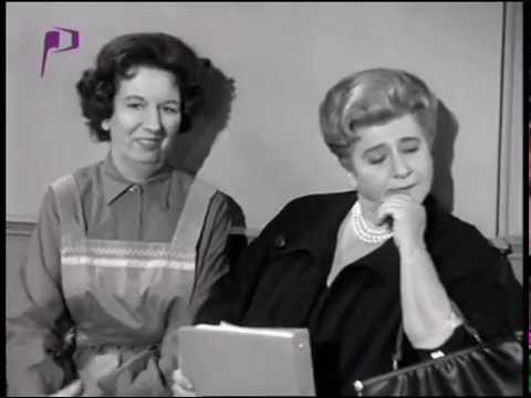 Mae Questel, Gertrude Berg, Mary Wickes--Gentleman Caller, 1962 TV