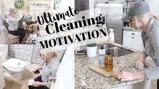 ULTIMATE CLEAN WITH ME 2019 | EXTREME CLEANING MOTIVATION | ALL DAY CLEANING ROUTINE
