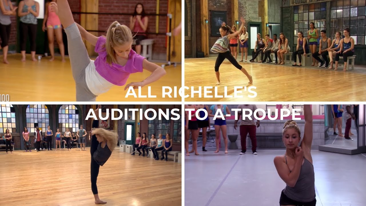 Download The Next Step - All Richelle's auditions to A Troupe (Briar Nolet)