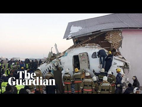 Bek Air crash: passenger plane with 100 on board does down in Kazakhstan