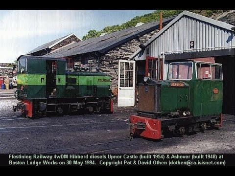 Ffestiniog & Welsh Highland Railway diesel locos 1994-2000