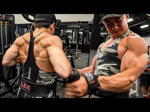 MONSTER BACK AND BICEPS WORKOUT! || Tristyn Lee
