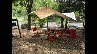 ニューアイテムを持って高間みずべ公園にデイキャンプ!
