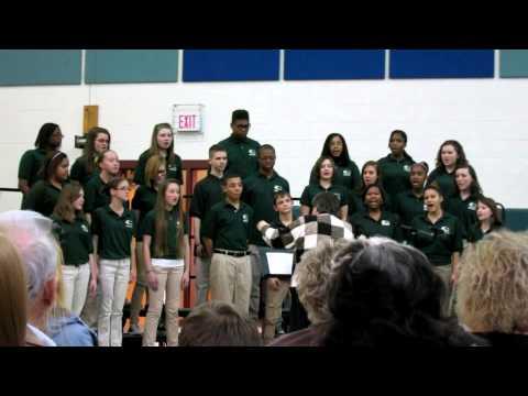 Louisa County Middle School Chorus 2-12-13