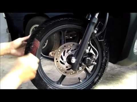 Shine Your Tires With Body Lotion - Semir Ban Menggunakan Body Lotion