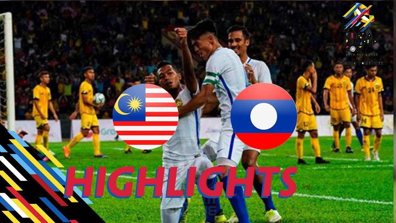 HIGHLIGHT | U22 LÀO vs U22 MALAYSIA  | BẢNG A SEA GAMES 29