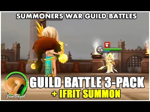 SUMMONERS WAR : Guild Battle 3-Pack (with Chilling, Nangrim, Walkers, and More)