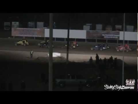 3-23-13 USAC Sprint main at  Central Arizona Raceway