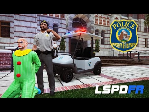 GTA 5 LSPDFR - University Campus Police Patrol