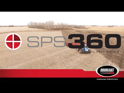Bourgault SPS 360 Soil Prep System - Seed Ready in One Pass
