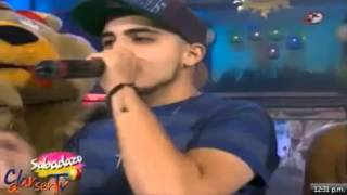 Hadrian Vs Doble D en Sabadazo Freestyle 03/Agosto/2013