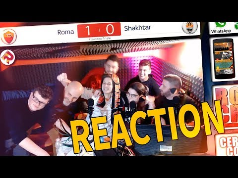 NON SVEJATEME! MIRACOLO A ROMA! SIAMO AI QUARTI!!! - REACTION Roma - Shakhtar Donetsk 1-0