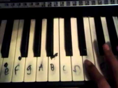 Mexican song for piano easy way