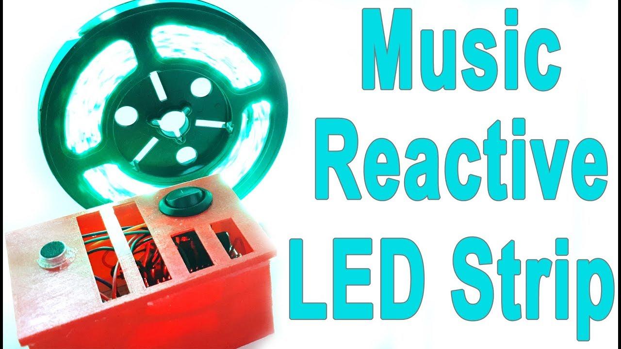 How to Make Arduino Music Reactive LED Strip - DIY