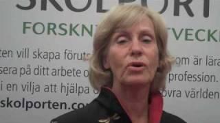 Lärarförbundet möter Gunilla Hammar-Säfström