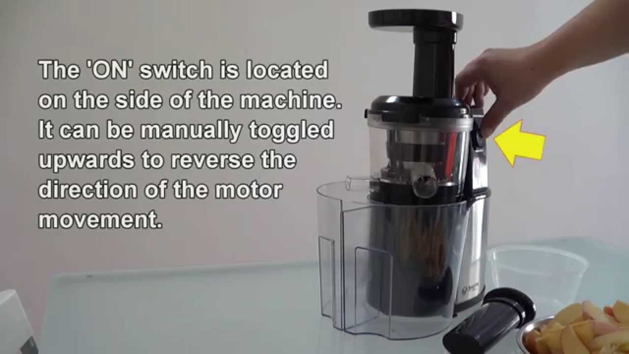 Bayers Dual Stage Slow Juicer (JAT Demo) - YouTube