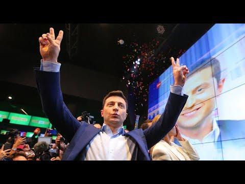 На выборах в Верховную Раду Украины партия Владимира Зеленского «Слуга народа» набрала больше 40%