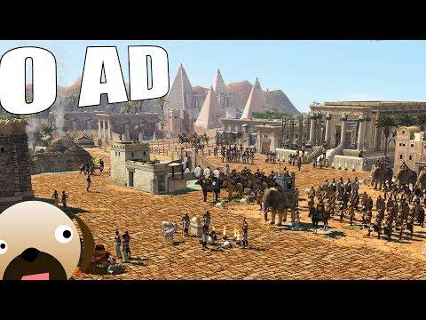 KUSH KINGDOM (KUSHITES) NEW CIVILIZATION NEW UPDATE - 0 AD GAMEPLAY