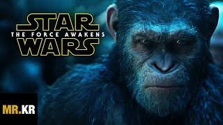 The Force Awakens - (War For The Planet Of The Apes Style)