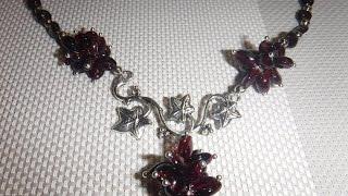 Украшения из граната и розового кварца. До и после. exclusive jewelry from natural stones