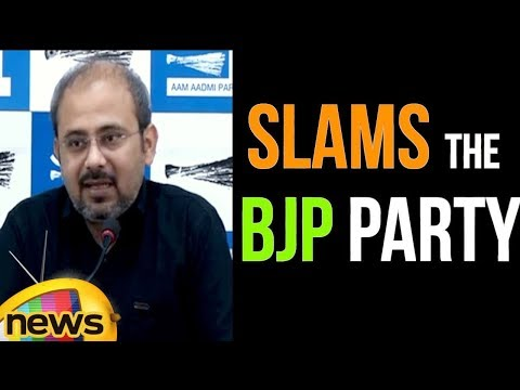 Manish Sisodia Slams The Bharatiya Janata Party Over The 9 Advisers | Mango News