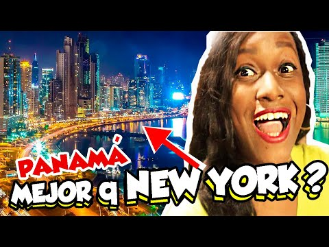 ASÍ DE IMPRESIONANTE se ve la CIUDAD de PANAMÁ de NOCHE | MEJOR que NEW YORK?