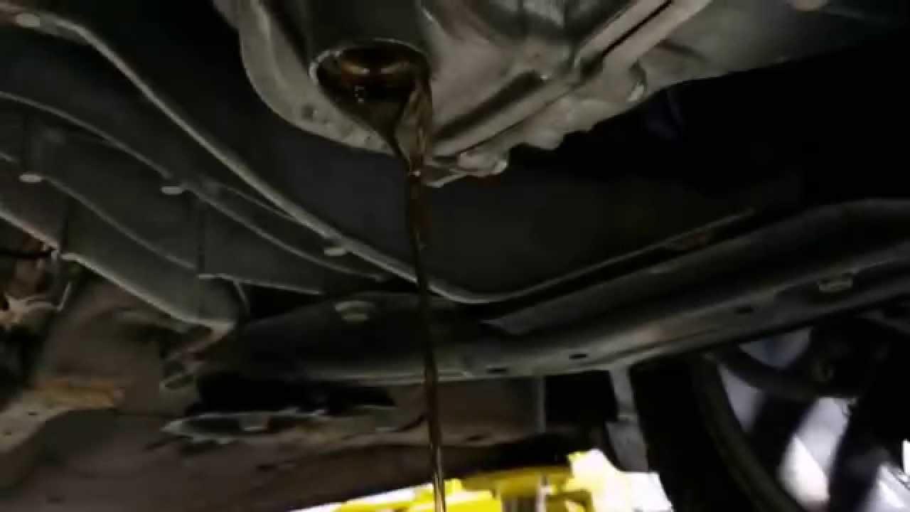 2013 Accord 6 Speed Manual Transmission Fluid Change 2014 2015 K24W1