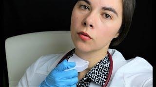 ASMR Thyroid Doctor Examination - Lymph Nodes- Ultrasound..