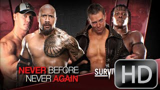 WWE Survivor Series 2011 The Rock And John Cena Vs The Miz And R-Truth