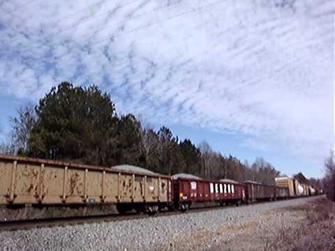 NS 321 slop freight