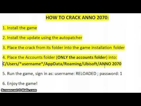 Anno 2070 Instalacja i Skopiowanie Cracka Reloaded