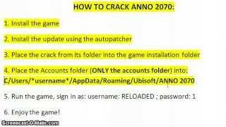 Anno 2070 Crack Download (+ Tutorial) [Working!]