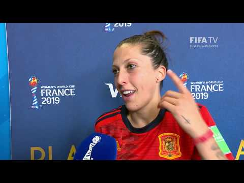 Jennifer Hermoso – Player Of The Match – Spain V South Africa
