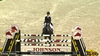 1173 NO DOUBT Hayley Waters, Class 225 Randolph College USEF Individual Championship Phase #3