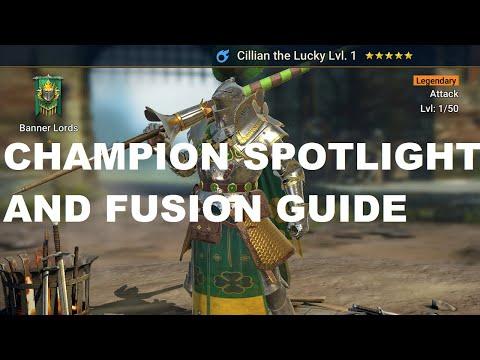 Champion Spotlight: Cillian the Lucky + Fusion Guide I Raid Shadow Legends