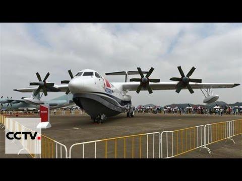 La Chine présente son plus grand avion amphibie