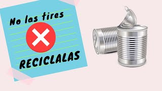 DIY 5 IDEAS PARA RECICLAR Y DECORAR LATAS