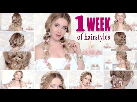 back-to-school:-1-week-of-hairstyles-or-everyday---easy,-cute,-quick-hair-tutorial