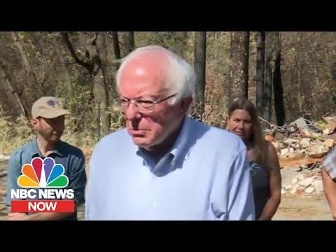 Bernie Sanders Announces Sweeping Climate Change Plan | NBC News Now