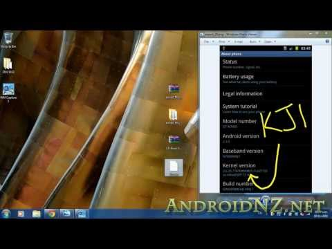 Samsung Galaxy Note: How To Root  - Video Guide 2 - New Recommended Root Method