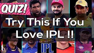 Can You Answer These IPL Questions? IPL 2019 Quiz | Indian Premier League