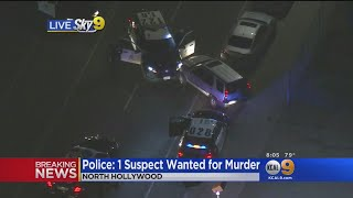 Suspect In Custody Following Dangerous Police Chase, Carjacking In North Hollywood
