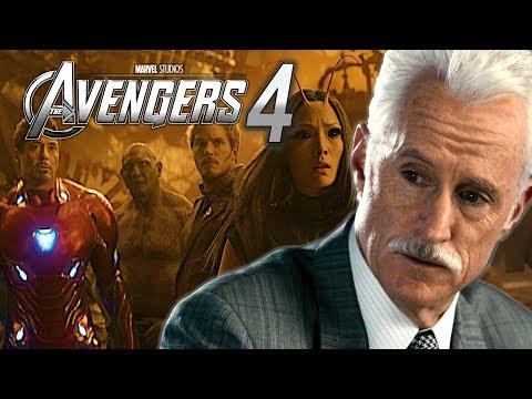 EXCLUSIVE: John Slattery Filmed s For 'AVENGERS 4'