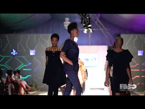 Nallem Clothing (Ghana) @ Accra Fashion Week Chilly Rainy 2018