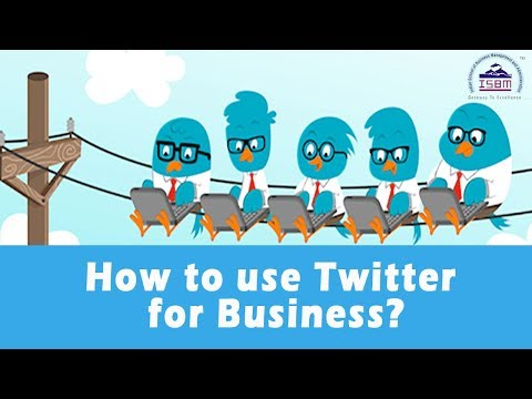 How to use Twitter for business | Social Media Marketing | Online SMM Course | ISBM