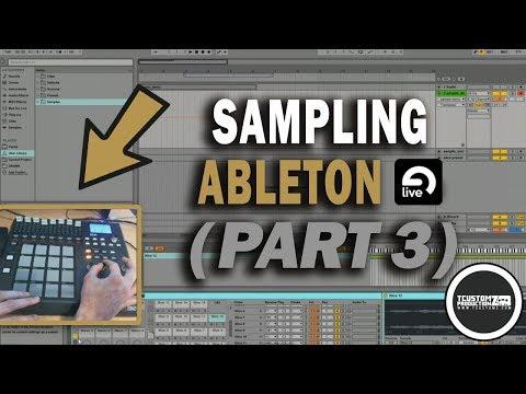 Sampling in Ableton Live Akai MPD32 Tutorial (Part 3)